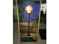 Garden post lantern