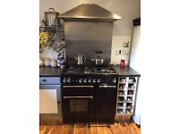 Range master gas electric cooker