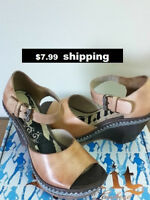 LUCCHESE SPIRIT COLLECTION CHLOE WEDGE-W 7-8-9 ~80%off