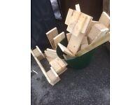 Free fire wood for wood burner