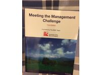Meeting the Management Challenge - Third edition
