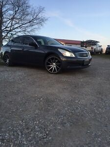 2009 G37x Sport Tech package With Navi, BackUp Cam