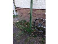 Garden poles x8