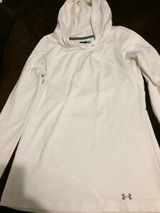 Under armour white sweater