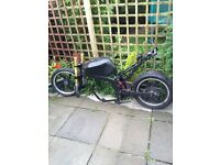 MOTORBIKE PROJECT 2006 FRAME WITH V5 AND REG