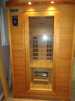 Cedar Wood Infrared Sauna - like new