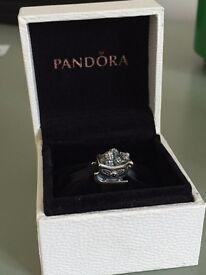 Pandora Santa's Sleigh Charm