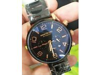 MONT BLANC Black & Rose Gold NEW Men's Watch