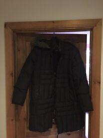 M&S Per una ladies winter jacket sz.XL (feather +down)