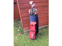 Mixed youth golf club set