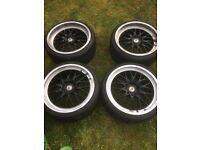 """19"""" Cades Tyrus Alloy Wheels & Avon Tyres BMW"""