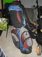 Adams Golf Bag with stand (Blue/Grey/Black/Red) (or Best Offer)