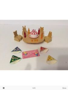 Baby Calico Critters/Sylvanian Families Birthday Party Set London Ontario image 2
