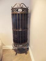 Thomasville Wrought Iron Bar Cabinet