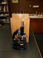 Microscope and accessories