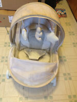 Netted baby chair