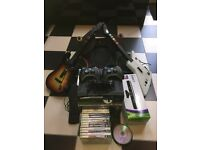Xbox 360 Elite 120GB with loads of extras.