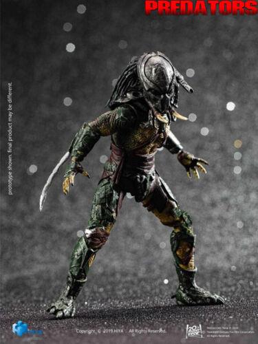 Hiya Toys Predators Tracker Predator 1:18 Scale Action Figure New and In Stock