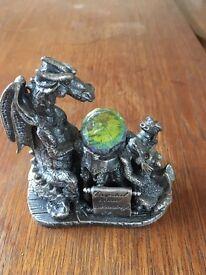 Dragon with jewel