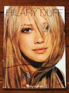 Hilary Duff Songbook [Piano/Vocal/Guitar] Loganholme Logan Area Preview