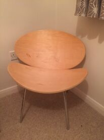 Chair for bedroom or desk dressing room IKEA type Birch Malm