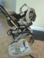 Graco stroller with car seat set for sale,
