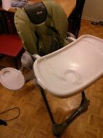 Chaise haute Chicco (faites moi un offre)