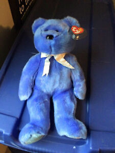 Clubby II the BBOC Bear Ty Beanie Buddy - beautiful stuffed bear