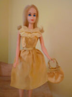 Vintage Barbie Golden Glitter 1972 Outfit
