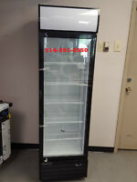 NEUF REFRIGERATEUR 1 PORTE VITREE COMMERCIAL / GLASS DOOR FRIDGE