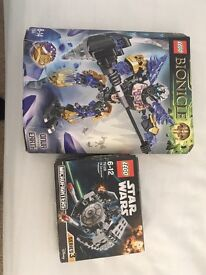 Lego Star Wars and bionicle