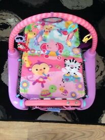 Fisher price playmat & vtech cot mobile £30