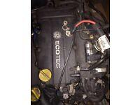 Vauxhall Corsa D 1.2 engine