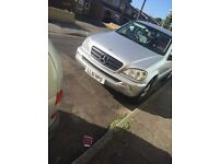 **Automatic - Mercedes ml 2.7 2002**