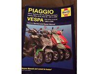 Piaggio Vespa, Service Repair.. Typhoon,Zip,Skipper,X8 x9, Liberty