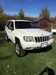 "2001 Jeep Grand Cherokee limited 4"" lift"