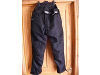 Fieldsheer cordura motorcycle trousers 32-34 waist