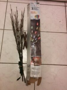LED Lights Lawn Stakes