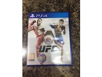 PS4 UFC game,
