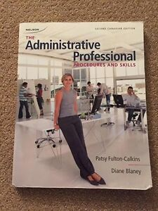Office Administration (St. Clair College) Good Condition
