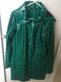 Ladies rain coat / rain mac size 10