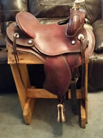 ORIGINAL ORTHOFLEX WESTERN SADDLE