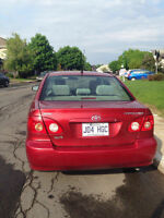 2008 Toyota Corolla Sedan