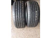 235/55/17 Bridgestone tyres
