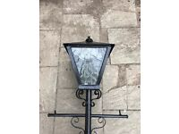 Cast Iron garden lamp post