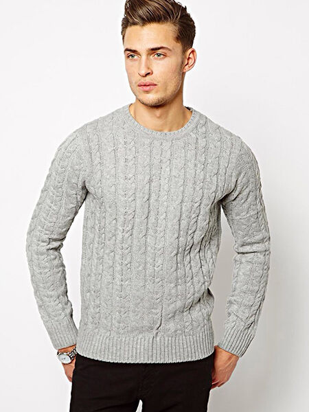 Men's Cable-Knit Jumpers