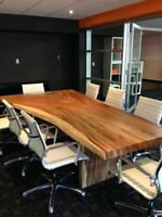 Canada's Largest supplier of Live Edge tables