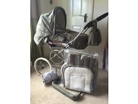 Jan Stewart Churchill pram immaculate used for 4 months please read offers welcome