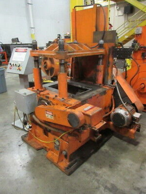 50 Ton Yoder 4-post Cut-off Press Metalworking Manufacturing Stock 5208