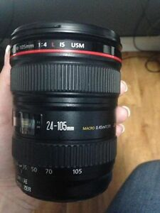 Canon 24-105L F4 IS Brand New
